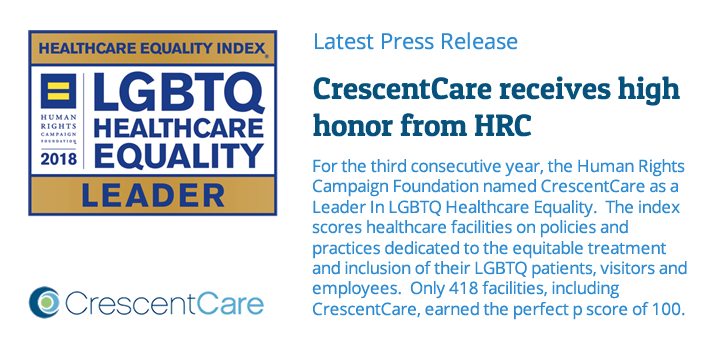 CrescentCare receives high honor from HRC