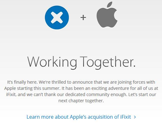 Pesce d'Aprile 2014 iFixit Apple