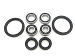 Both Front Wheel Bearings and Seals Kit Yamaha Blaster YFS200 1988-2002