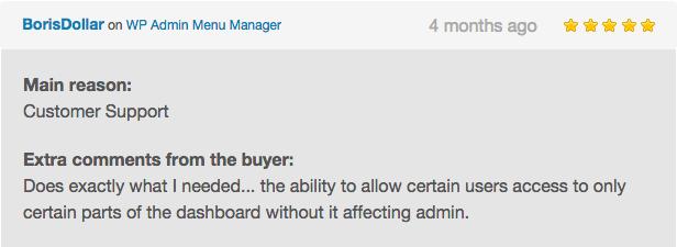WP Admin Menu Manager - 11