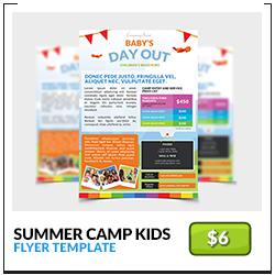 summer-camp-kids-children-flyer