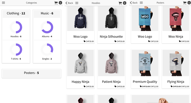 API Ionic WooCommerce - App PhoneGap / Cordova Full Hybrid - 5