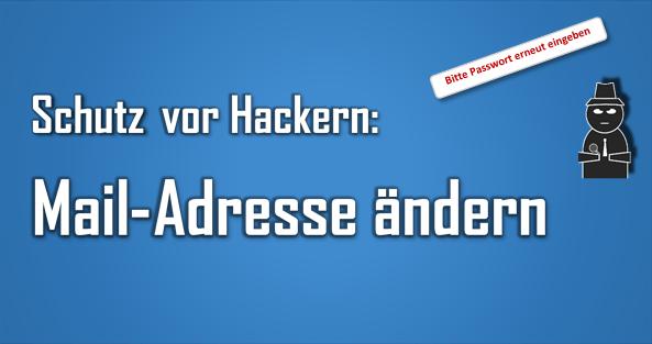 Durch die Änderung der Mail-Adresse als Benutzername kann man ggf. mehr Sicherheit erreichen.