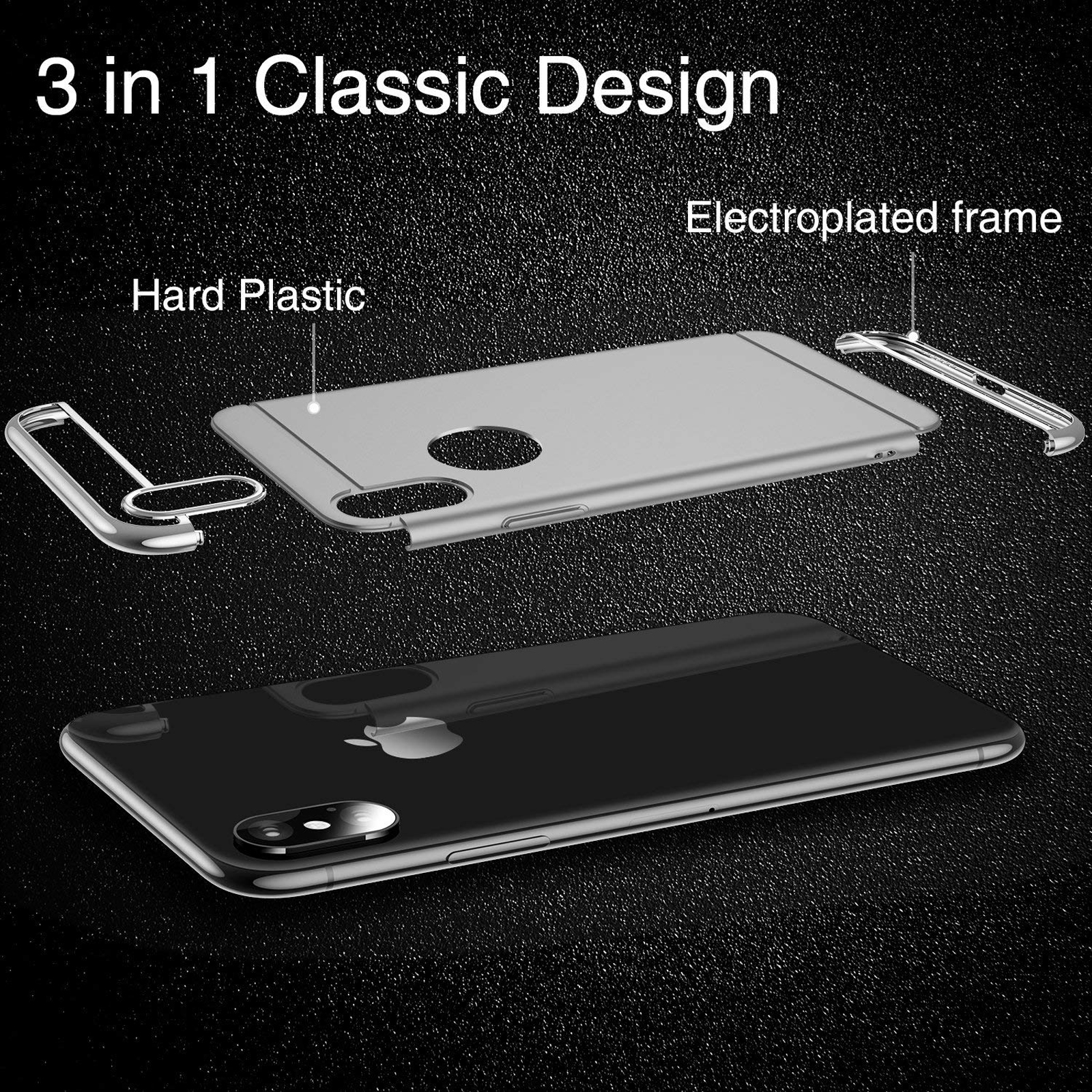 Luxury-Matte-Case-Tempered-Glass-Cover-For-Apple-iPhone-X-XS-XR-Max-10-8-7-6s-6 thumbnail 78
