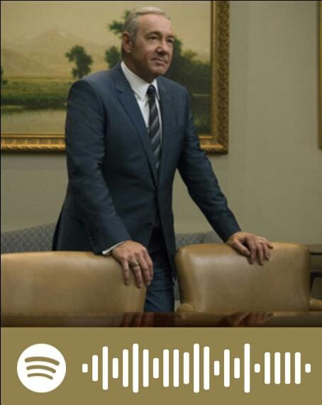 House of Cards: listas de Spotify de los Underwood