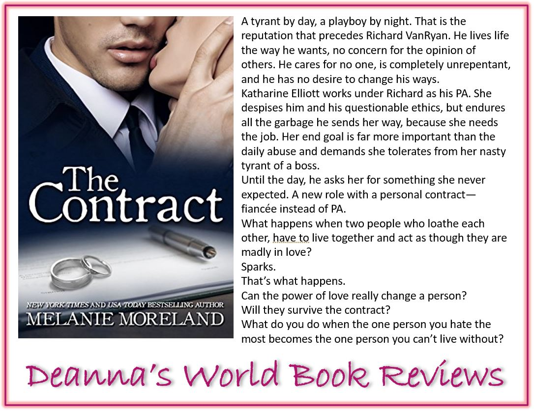 The Contract by Melanie Moreland blurb
