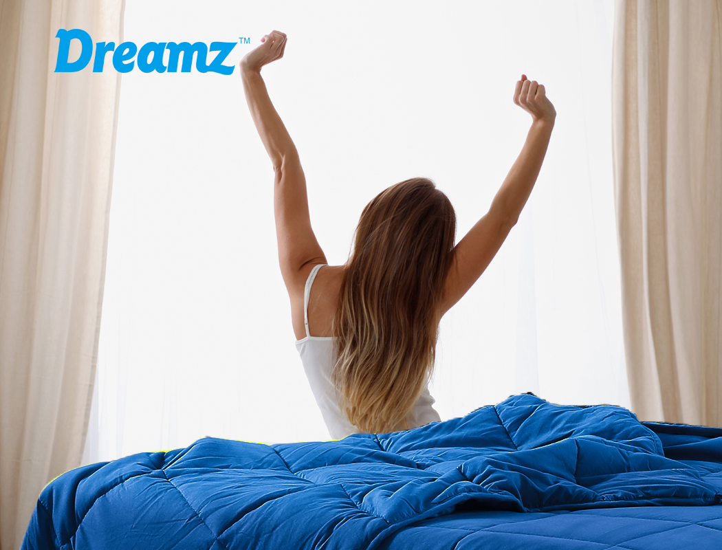 thumbnail 83 - DreamZ Weighted Blanket Heavy Gravity Deep Relax 5/7/9KG Adult Kid Double Queen