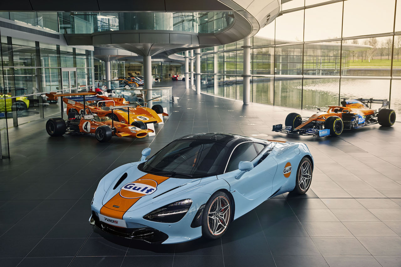McLaren Special Operations unveils special Gulf livery 720s