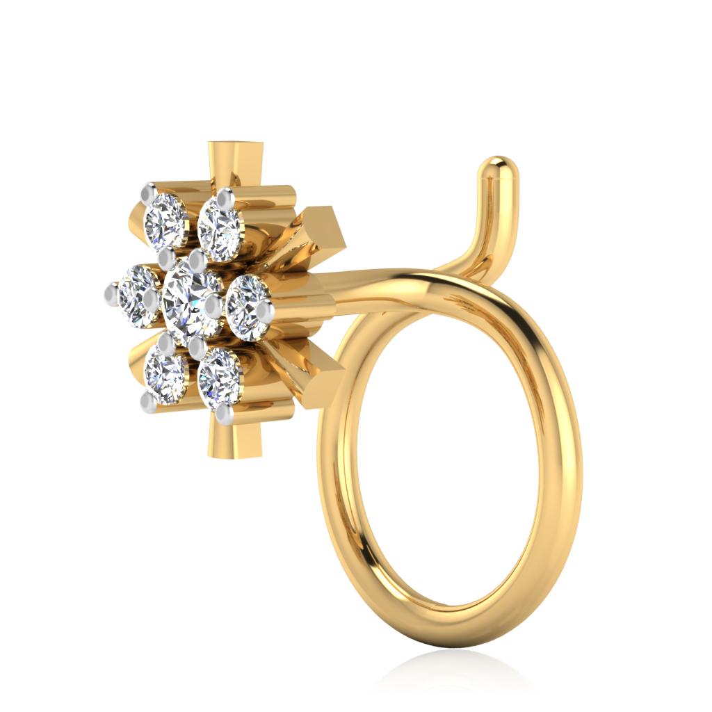 The Laviena Diamond Nose Pin
