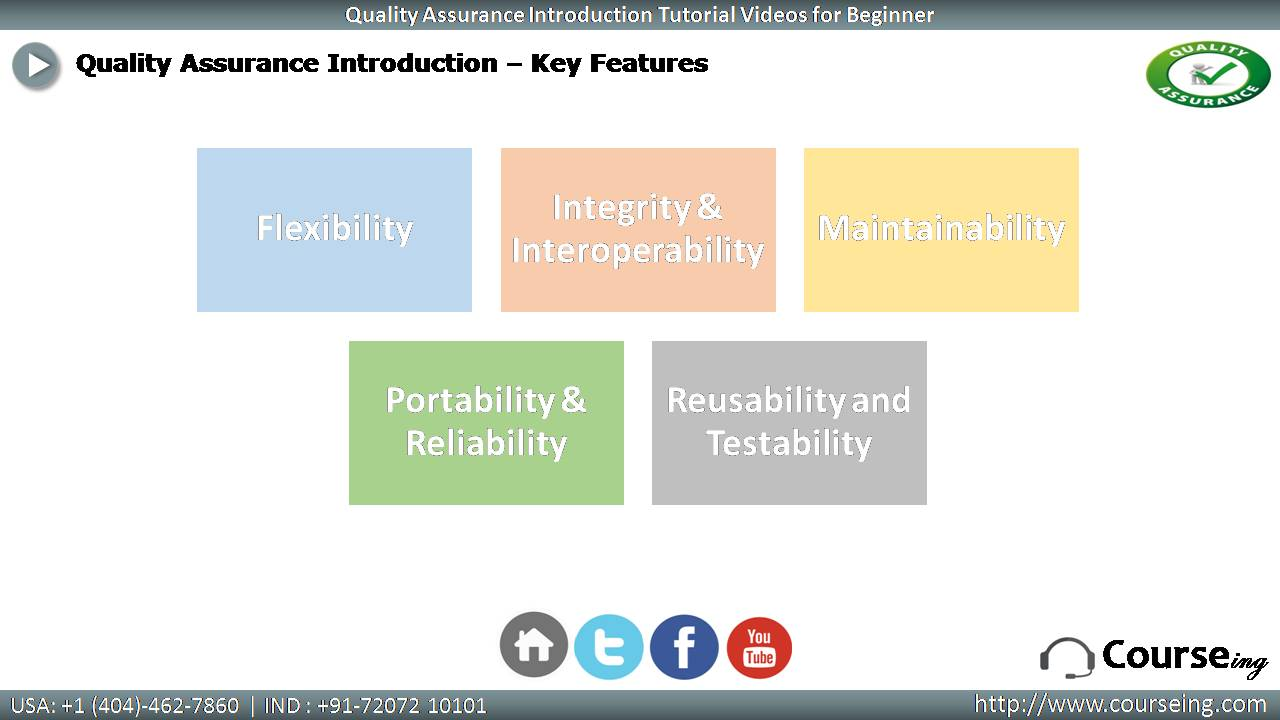 Key Features of QA
