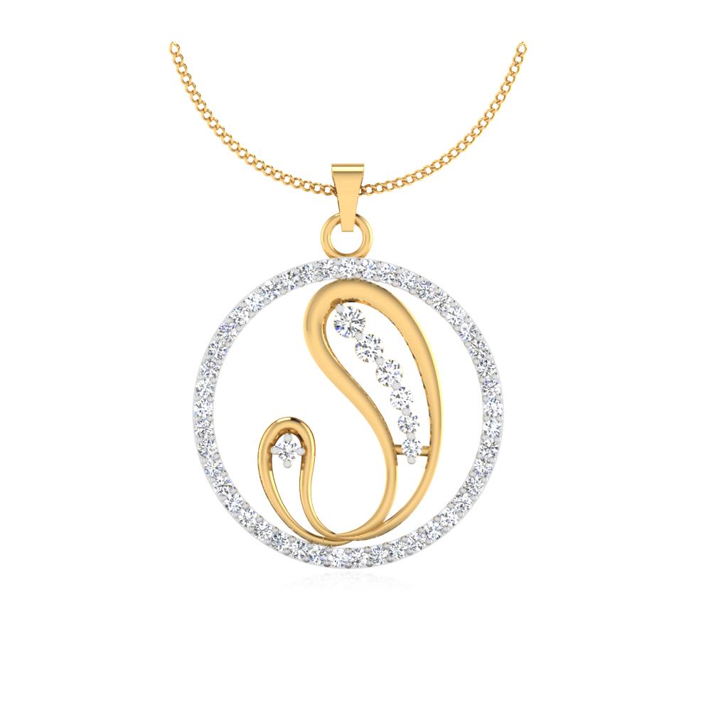 The Gajakarna Diamond Pendant