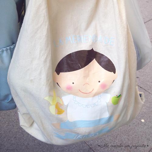 Bolsa, Mochila de tela personalizada para el colegio