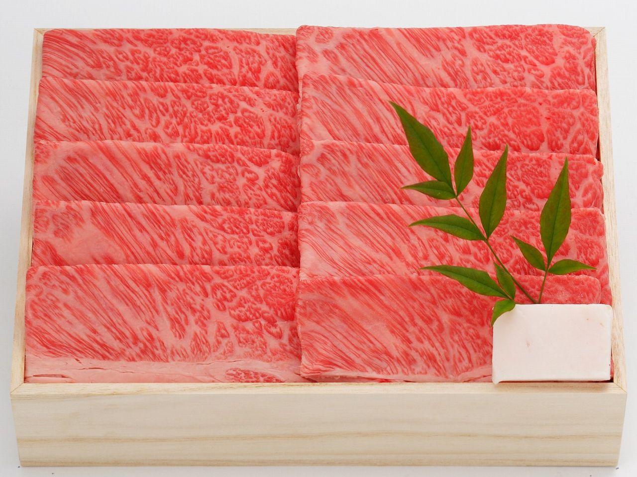 米沢牛 すき焼き 肩ロース