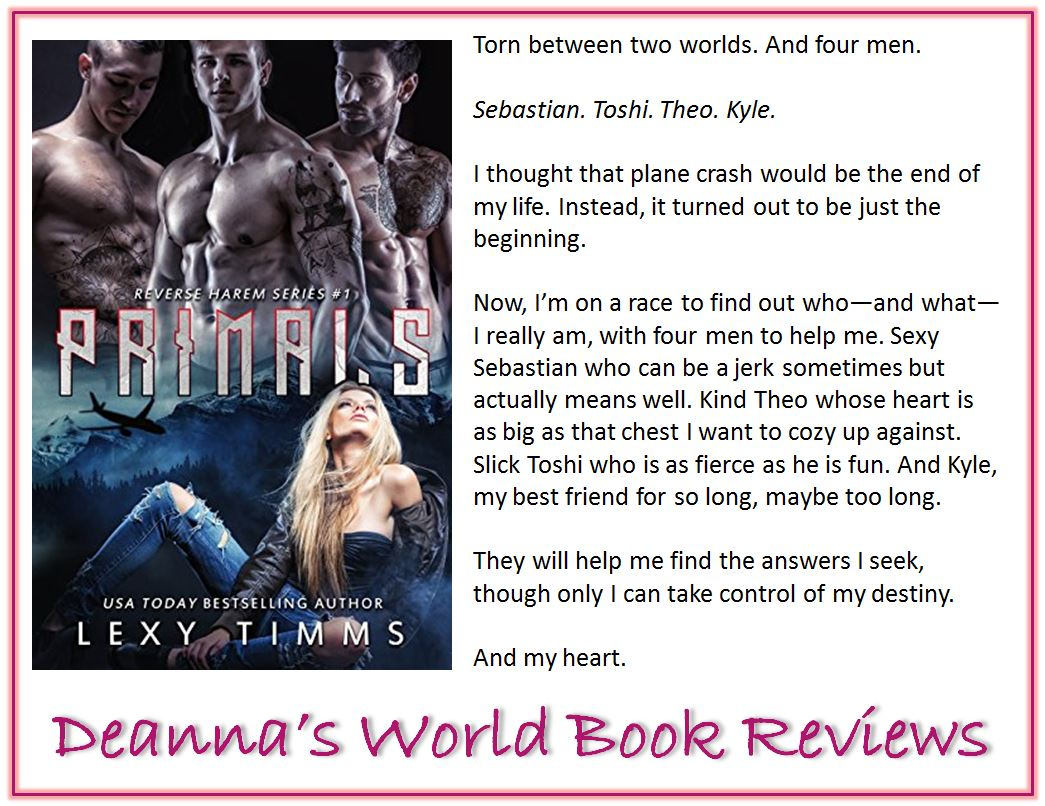 Primals by Lexy Timms blurb