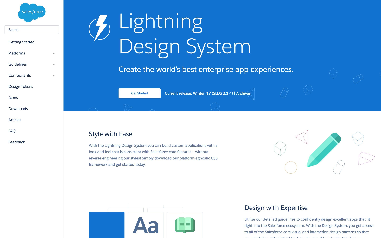 Lightning Design System