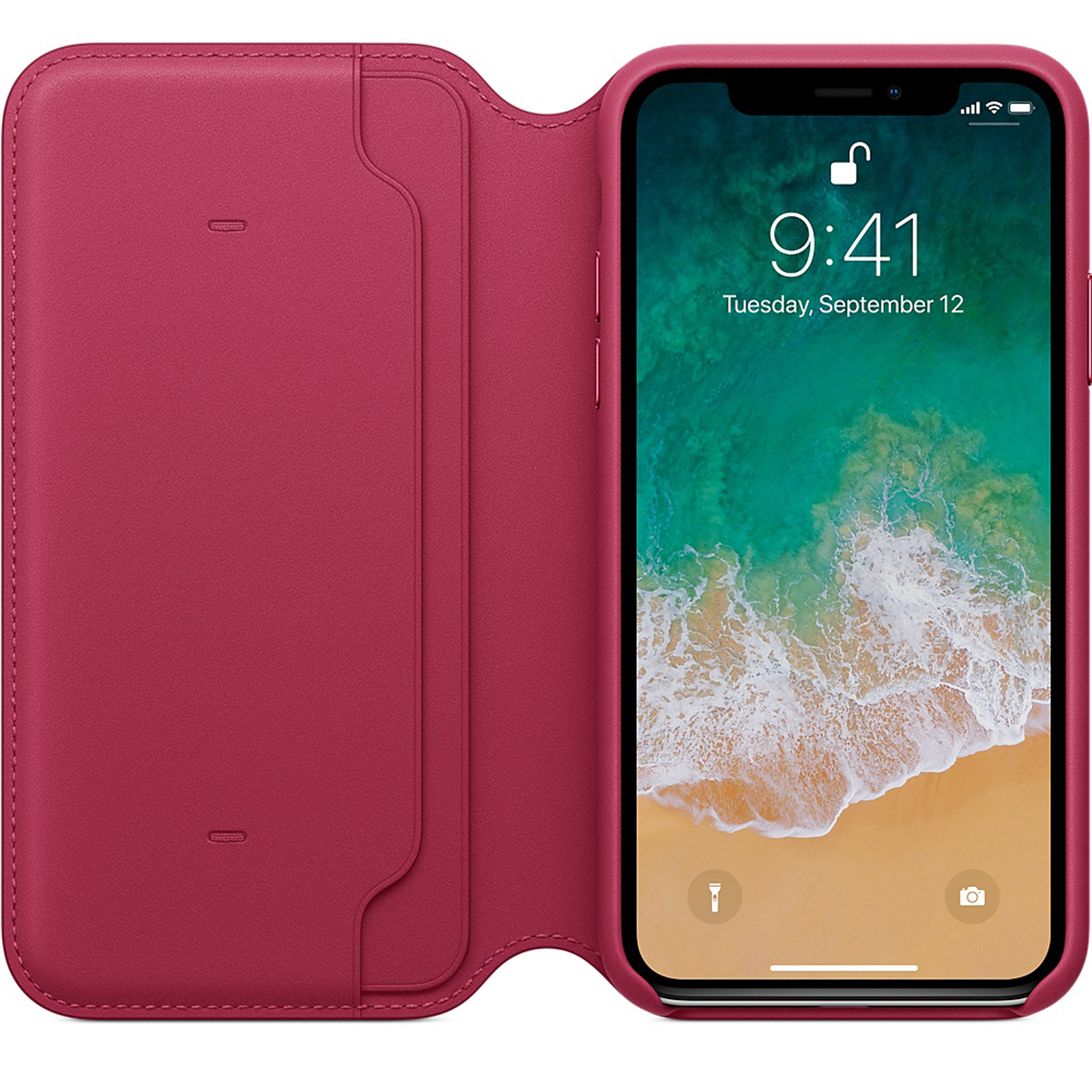 Genuine-Leather-Folio-Flip-Wallet-Case-Cover-For-Apple-iPhone-11-Pro-Max-Xs-8-7 thumbnail 33