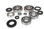 Engine Bottom End Bearings and Seals Kit Kawasaki KX250 1983 1984