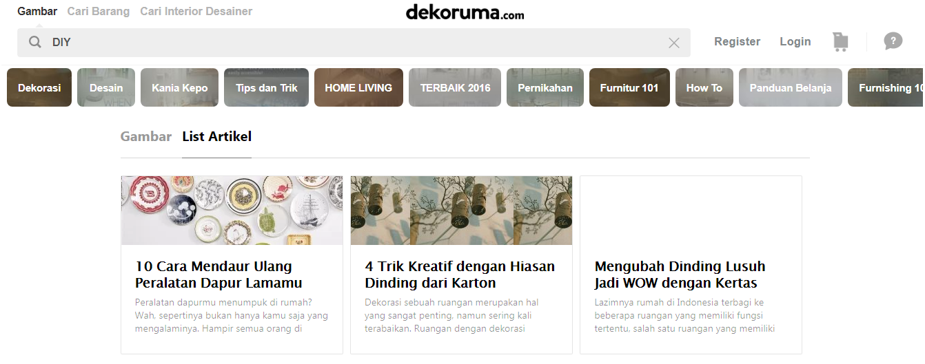 Blog Dekoruma