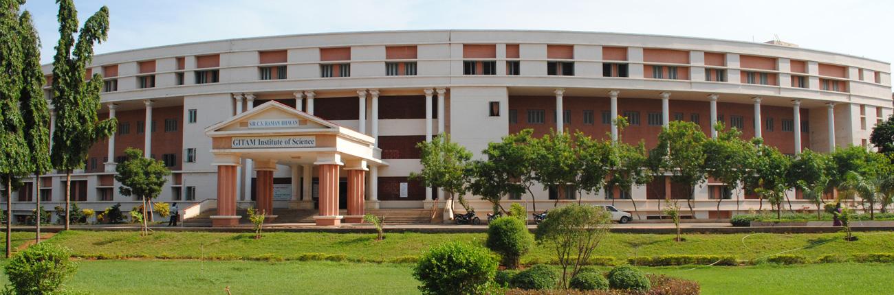 GITAM Institute of Science, Visakhapatnam Image
