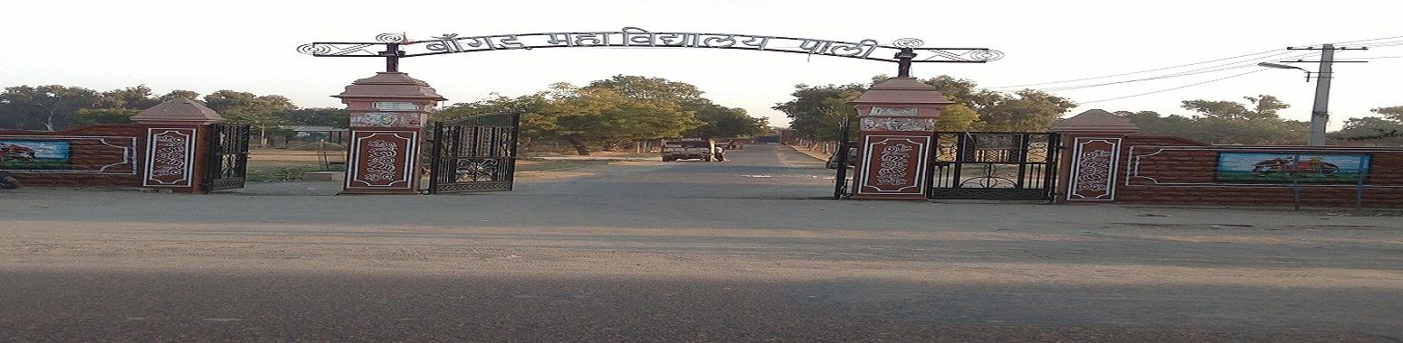 Government Bangur Post Graduate College