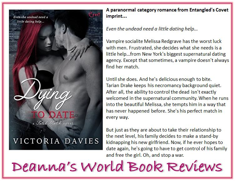 Dying To Date by Victoria Davies blurb