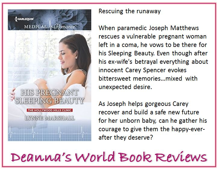 His Pregnant Sleeping Beauty by Lynne Marshall blurb