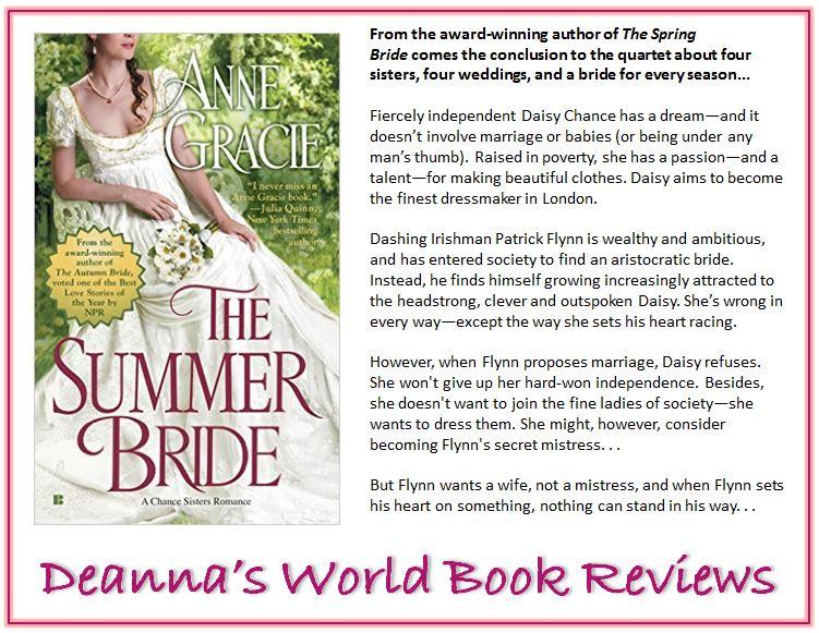 The Summer Bride by Anne Gracie blurb