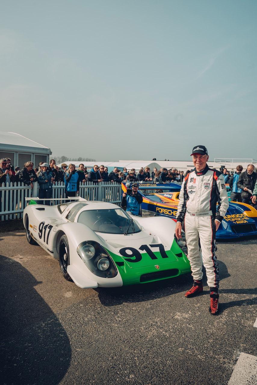 Porsche marks Le Mans winner Richard Attwood's 80th birthday