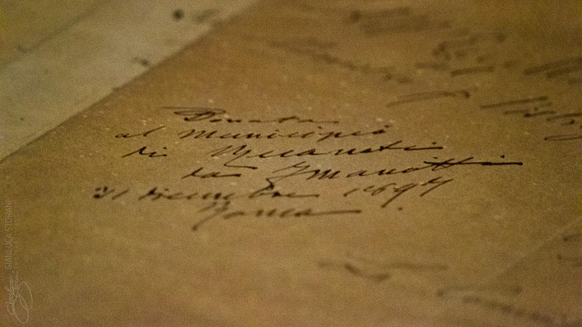 Manoscritto originale del Leopardi - Gianluca Storani Photo Art (ID: 4-7083)