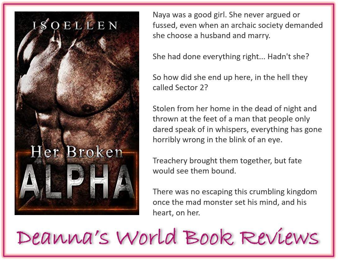 Her Broken Alpha by Isoellen blurb