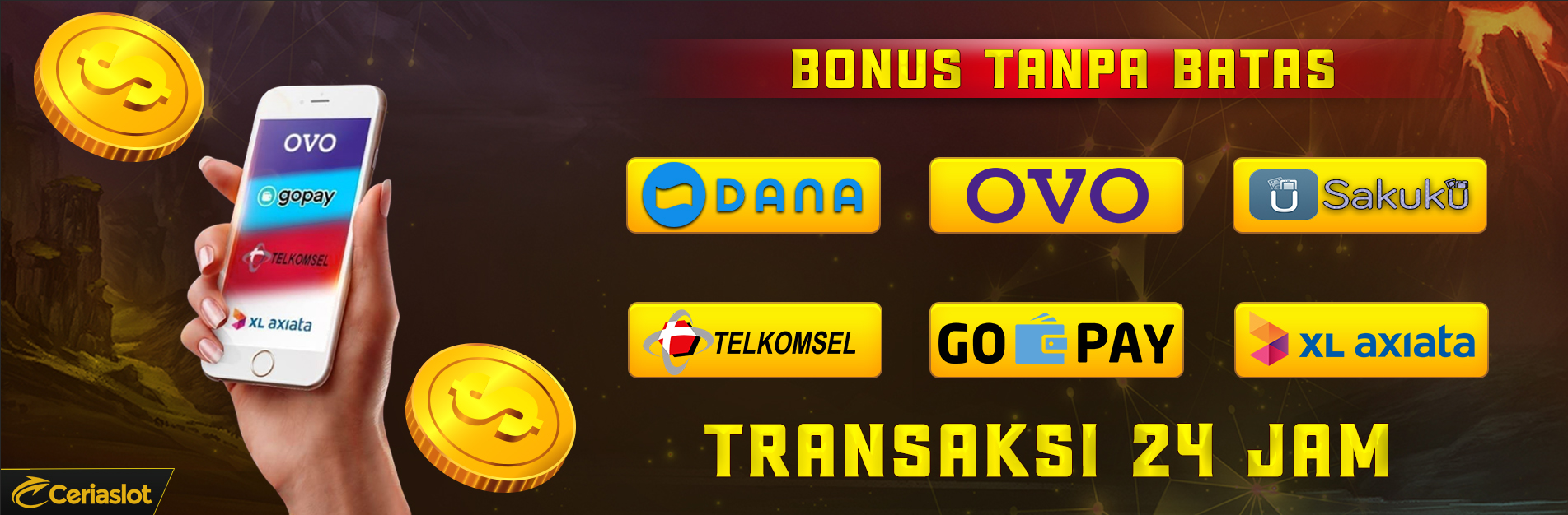 Deposit Pakai E-Money