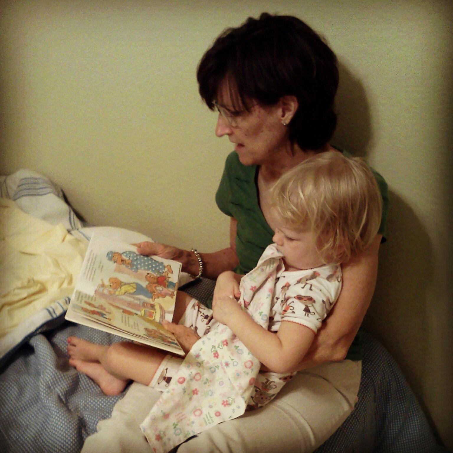 Grandma makes bedtime stories better!