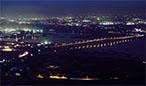 夜景 蔵王山展望台