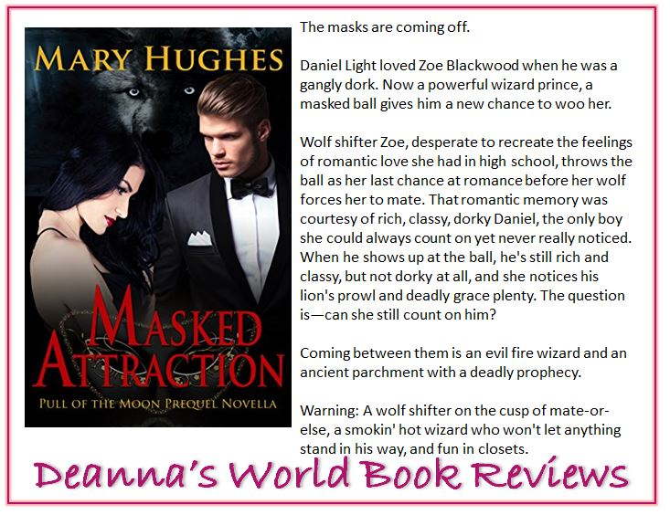 Masked Attraction by Mary Hughes blurb