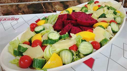 蔬果醬沙拉