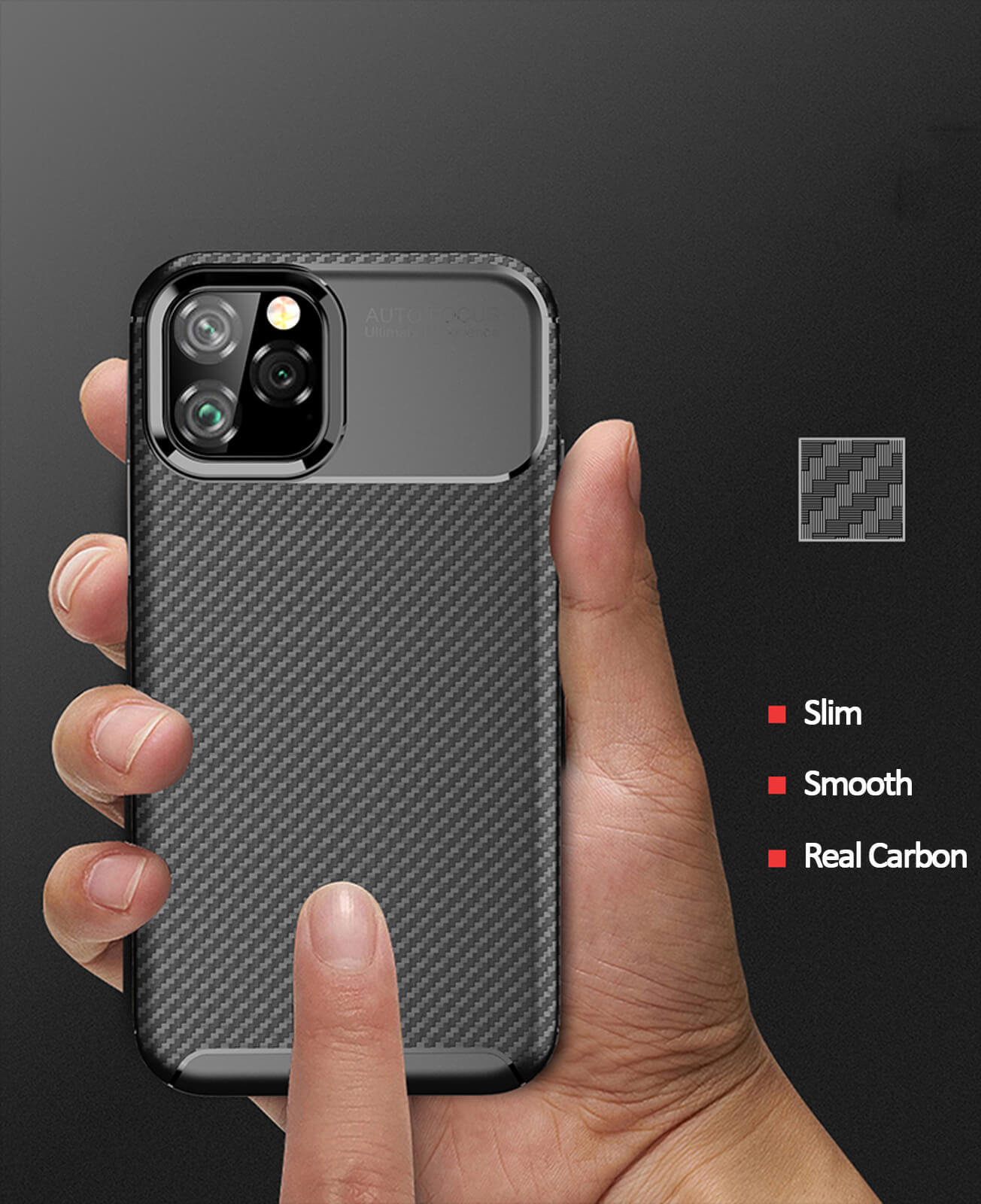 thumbnail 49 - Case for iPhone Carbon Fibre Soft Cover TPU Silicone Slim 11 X XR Max 8 7 6 Plus