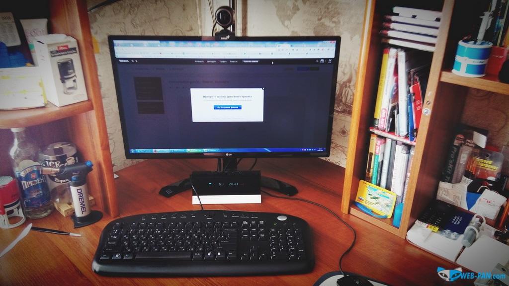 Фото нового монитора, я доволен на 100%. Фото 3