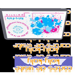 Cartes de visite pour Kaly-Kaly