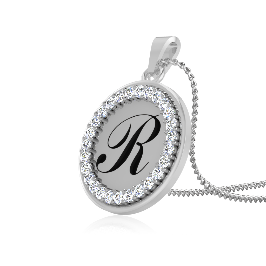 The Radiant R Pendant