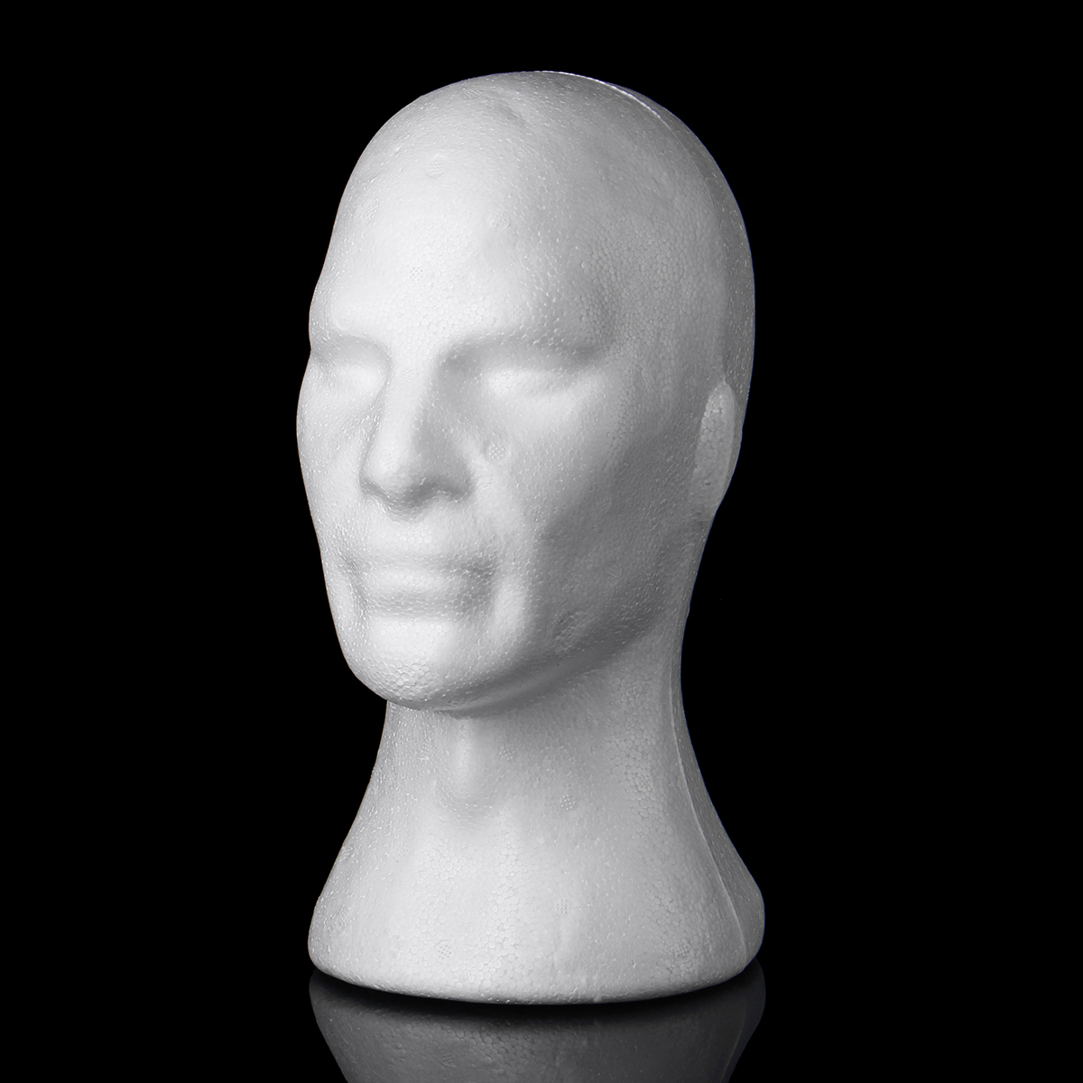 Other Gadgets White Female Foam Mannequin Head Model Hat