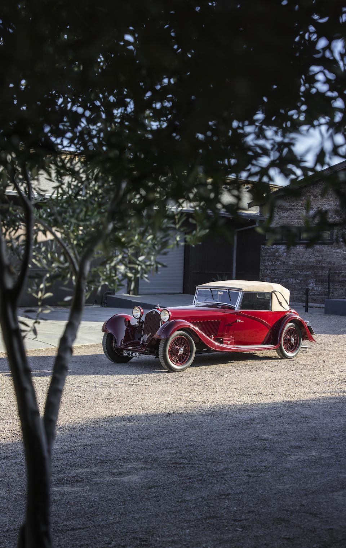 Bonhams offers stunning 1934 Alfa Romeo 8C 2300 Cabriolet