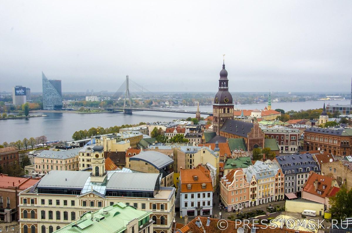 Вид со смотровой площадки Церкви Святого Петра