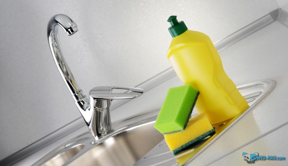 Уборка в доме и мытьё посуды также важны, как и готовка, стирка и прочие домашние дела!