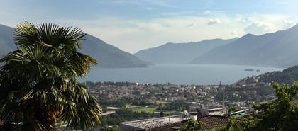 Blick auf Ascona und den Lago Maggiore