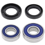 Front Wheel Bearings and Seals Kit Yamaha Tri Moto 200 YTM200 1983 1984 1985