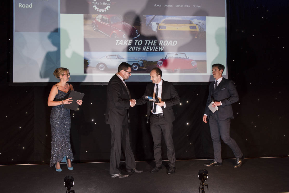 2016 - A Great Year for Take to the Road winning the 2016 UKBlog Awards