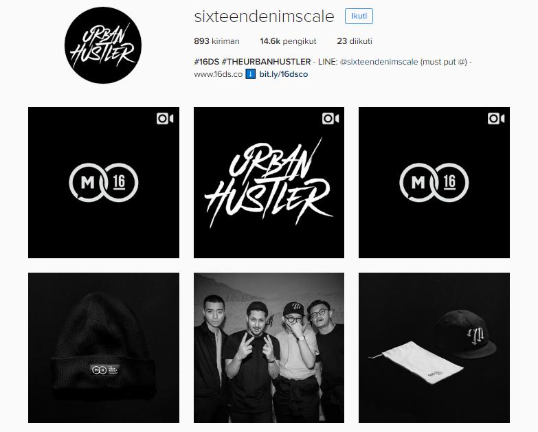 instagram sixteendenimscale