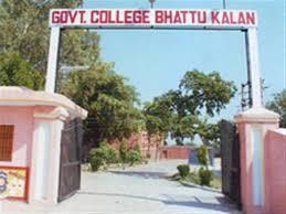 Government College, Bhattu Kalan
