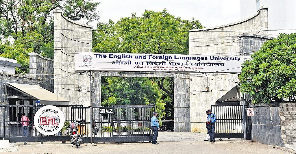The English and Foreign Languages University