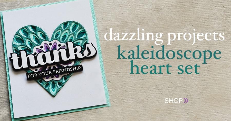 kaleidoscope heart layer set